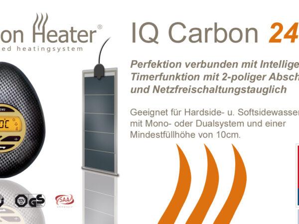 """Carbon Heater digitale """"iq Carbon"""" -0"""