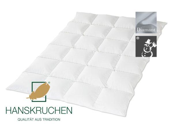 Daunen-Bettdecke Diamant (warm) von HANSKRUCHEN-0