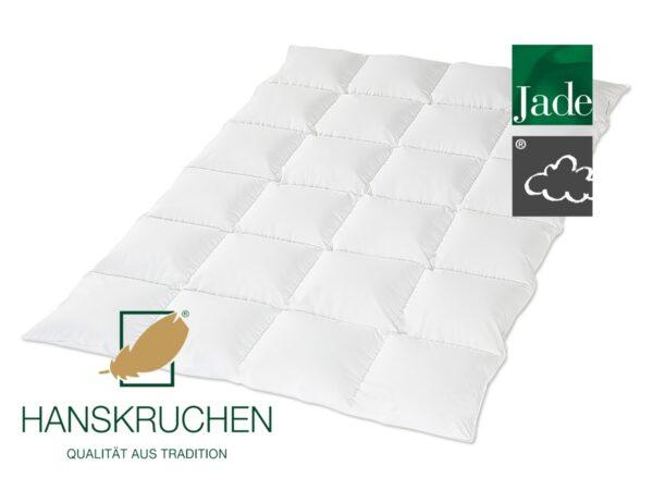 Daunen-Bettdecke Jade (medium) von HANSKRUCHEN-0