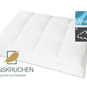 Daunen-Bettdecke Opal (Medium) von HANSKRUCHEN-0