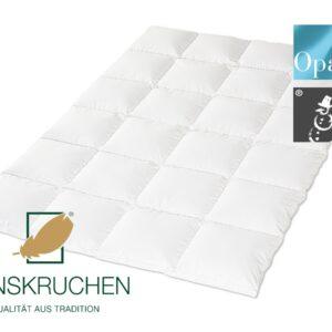 Daunen-Bettdecke Opal (Warm) von HANSKRUCHEN-0