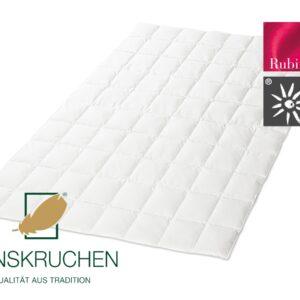 Daunen-Bettdecke Rubin (extra leicht) von HANSKRUCHEN-0
